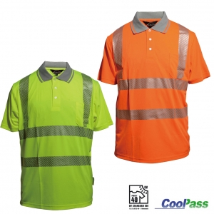"Produktbild ""Polo-Shirt 531 CoolPass EN ISO 20471"""